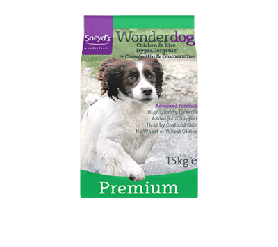 Wonderdog Premium Hypoallergenic Chicken & Rice