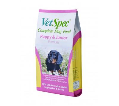 VetSpec Puppy & Junior 12kg
