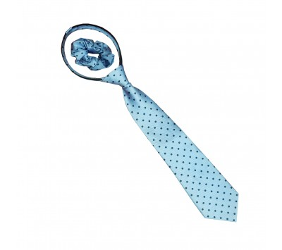 Equetech Junior Polka Dot Zipper Tie