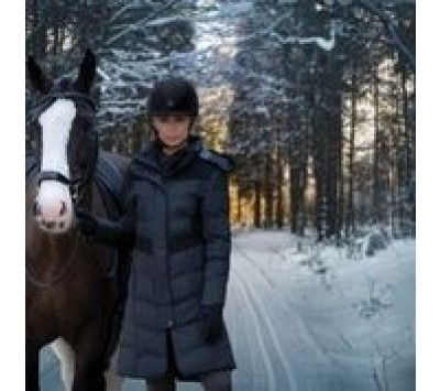 Equetech Womens Vision Long Padded Coat