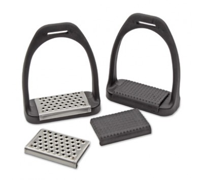 Shires Lightweight Stirrups with Interchangable Treads