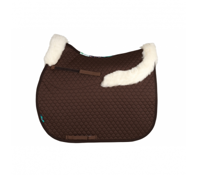 Nuumed Hi Wither Saddlepad with Front and Back Collars