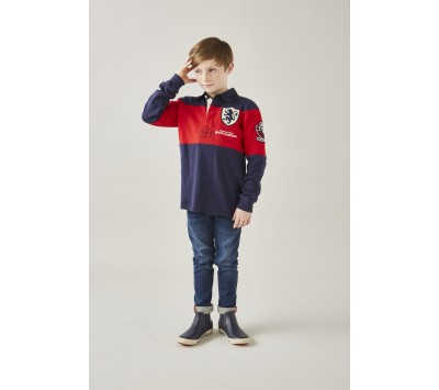 Joules Boys Winner Embellished Rugby Shirt