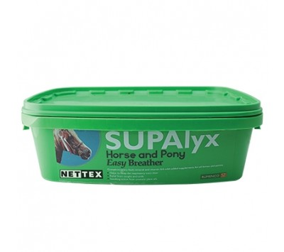 SUPAlyx Horse & Pony Lick Easy Breather 12.5kg
