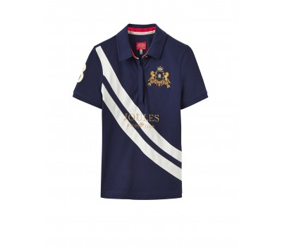 Joules Liberty Embellished Polo With Sash