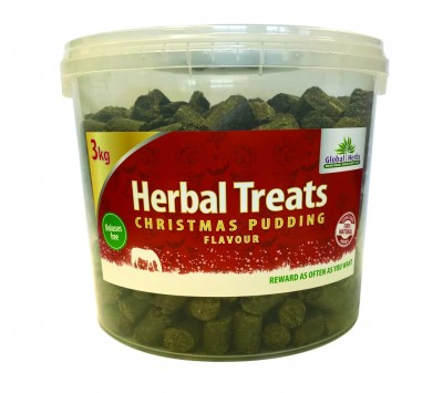 Global Herbs Christmas Pudding Herbal Treats