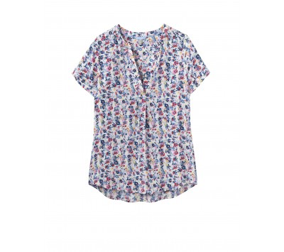 Joules Iona Short Sleeve Blouse
