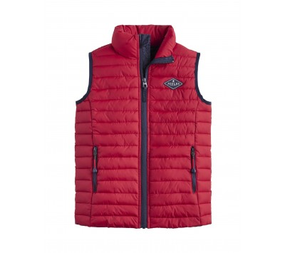 Joules Older Crofton Skinny Boys Quilted Gilet
