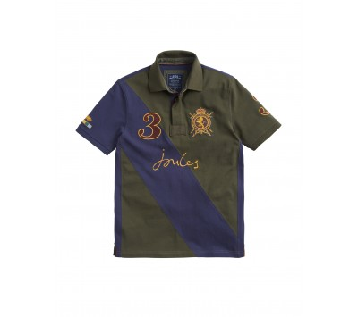 Joules Mens Regal Embellished Polo Shirt