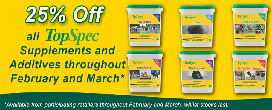 View all TOPSPEC FEB/MARCH OFFER products